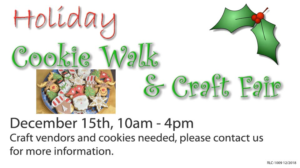 Holiday Cookie Walk and Craft Fair