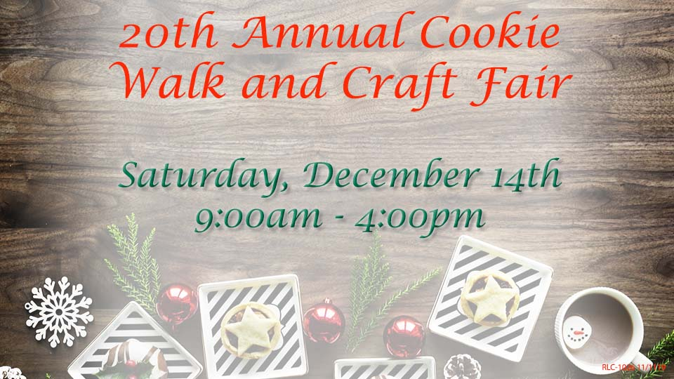 Cookie Walk and Craft Show