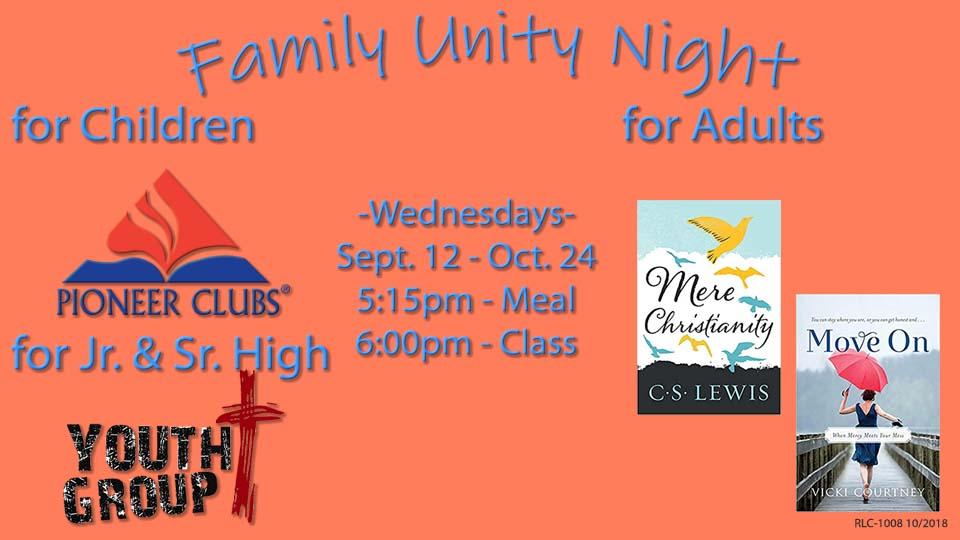 Family Unity Night